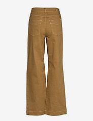 Baum und Pferdgarten - NIKKA - broeken met wijde pijpen - dijon brown - 2