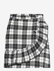 Baum und Pferdgarten - SABEEHA - korta kjolar - cream black check - 1