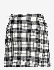 Baum und Pferdgarten - SABEEHA - korta kjolar - cream black check - 2