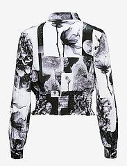 Baum und Pferdgarten - MAEKO - langærmede skjorter - black floral collage - 2