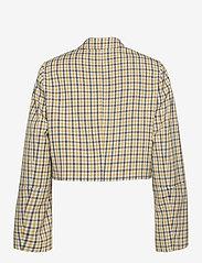 Baum und Pferdgarten - BIANKA - casual blazere - mustard check - 2