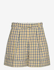 Baum und Pferdgarten - NOMADE - shorts casual - mustard check - 0