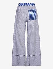 Baum und Pferdgarten - NALA - bukser med brede ben - blue folk stripe - 1
