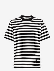 Baum und Pferdgarten - JALO - t-shirts - black and white stripe - 0