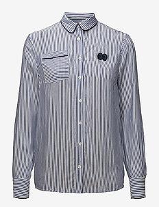 MAGDALENA - langærmede skjorter - bluestripe