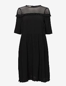 AAMINA DRESS - BLACK