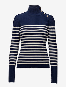 CIREA - turtlenecks - sailor stripe