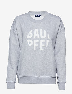 JAALA - sweatshirts - grey melange white