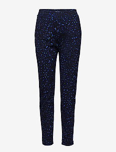 JEDDA - leggings - blue leopard