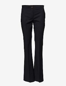 NAPEA - bukser med brede ben - night sky