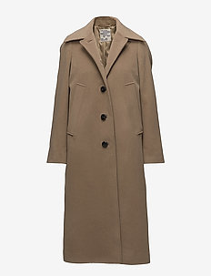 DOLORES - wool coats - camel beige