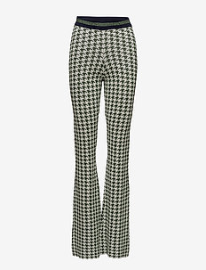 CONNIE - GREEN HOUNDSTOOTH