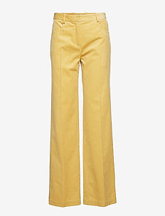 NOYA - flared jeans - raffia yellow