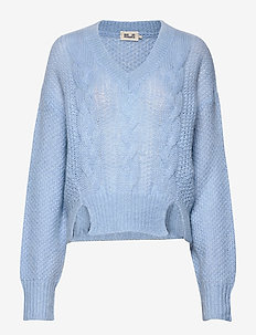 CORALIE - pulls - chambray blue