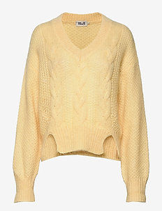 CORALIE - pulls - raffia yellow