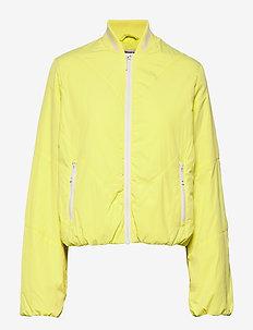 BIRGITTE - padded jackets - canary yellow
