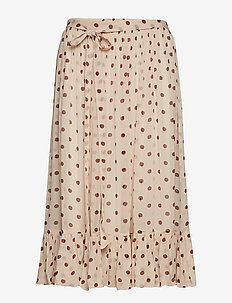 SELDA - maxi nederdele - dotty red