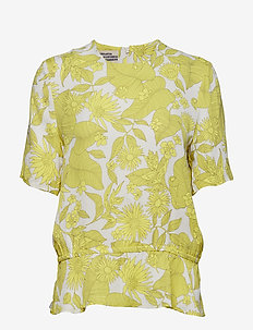 MERIS - blouses à manches courtes - tropically yellow