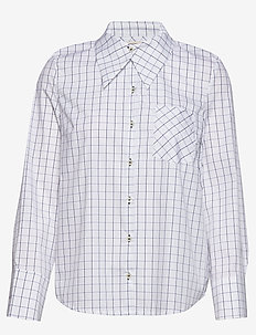 MEDHA - koszule z długimi rękawami - peacoat grid