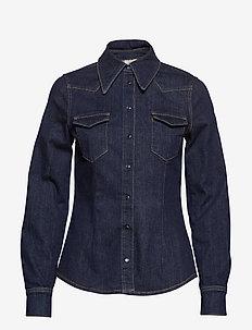 MERINDA - denim shirts - denim rinse