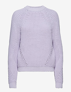 CAMILLA - jumpers - milky lilac
