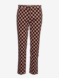 NILLE - straight leg trousers - nougat bp