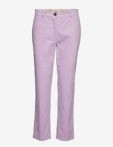 NILLE - straight leg trousers - orchid bloom