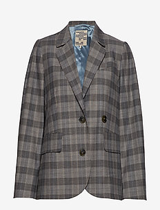 BEVERLEY - blazere - grey check