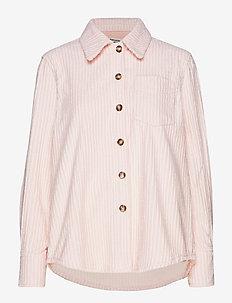 MIN - long-sleeved shirts - peachskin