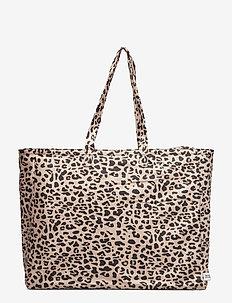 KORY - casual shoppers - beigeblack leo