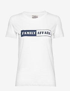 JERRY - t-skjorter med trykk - bright white