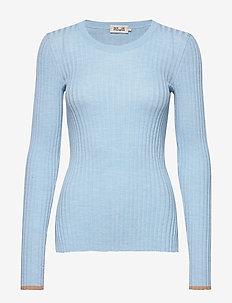 CAROLYN - jumpers - light blue melange