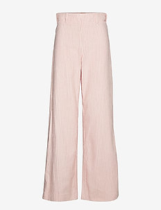 NORISSA - wide leg trousers - peachskin