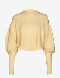 COLINE - jumpers - straw yellow melange