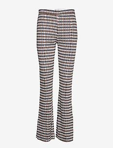 JONI - BROWN BLUE HOUNDSTOOTH