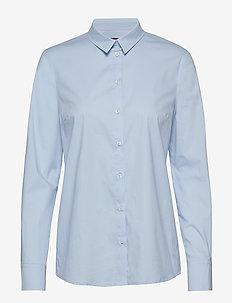 MAGDA - langærmede skjorter - brunnera blue