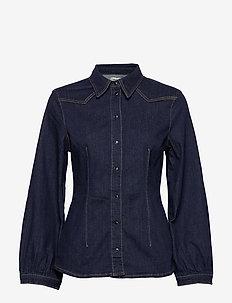 BONNY - denimskjorter - denim rinse