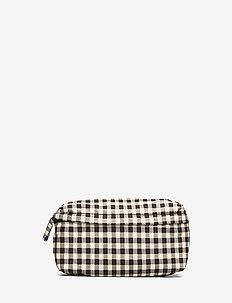 KIVO - bæltetasker - yellowblack checks