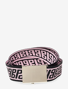 LEXY - bælter - pinkblack bp