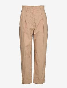 NOBERTA - bukser med lige ben - warm sand