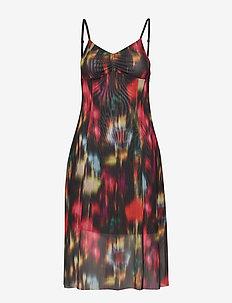 JEM - midi kjoler - black floral blur