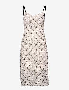 JEM - midi kjoler - creamblack boomerang