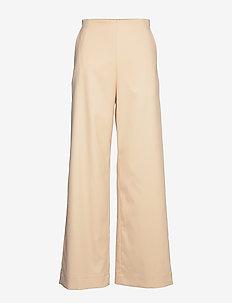 NYO - bukser med brede ben - alesan peach