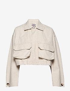 BROOKLYNN - utility-jakker - creamy beige