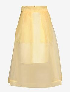 SASHENKA - midinederdele - vanilla custard yellow