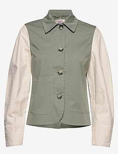 BEX - utility jackets - light khaki