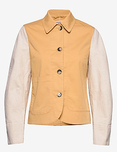 BEX - utility jackets - new wheat yellow