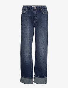 NANNE - jeans droites - authentic denim wash