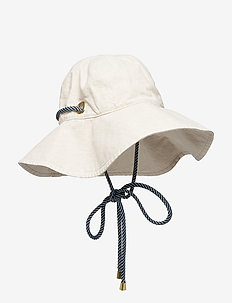 LANE - hoeden - creamy beige
