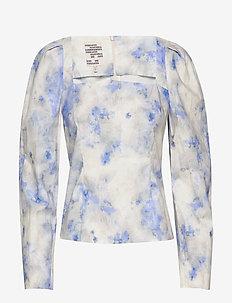 MARLOWE - long sleeved blouses - cloudy blue sky